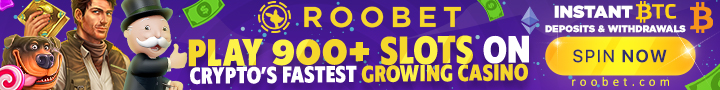 Roobet, the fastest growing Crypto Casino!